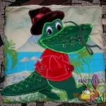 По улице ходила большая крокодила, Она, она зеленая была.