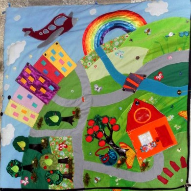 Детские коврики своими руками эскизы